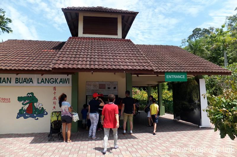 ランカウイ クロコダイル ファーム (Langkawi Crocodile Farm)