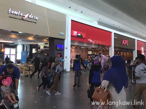 KLIA2クアラルンプール空港からランカウイ島へ